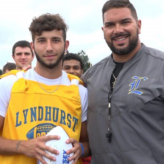 Ben Franchino wins Week 1 Game Ball | Lyndhurst High School