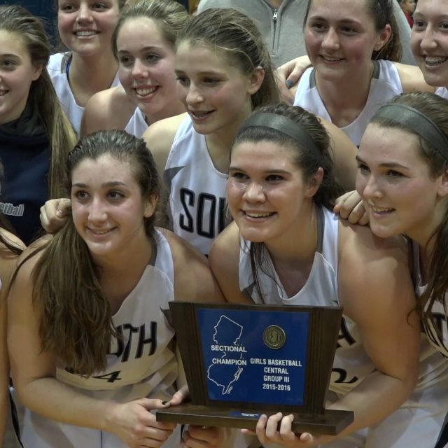 Lady Eagles three-peat sectional title