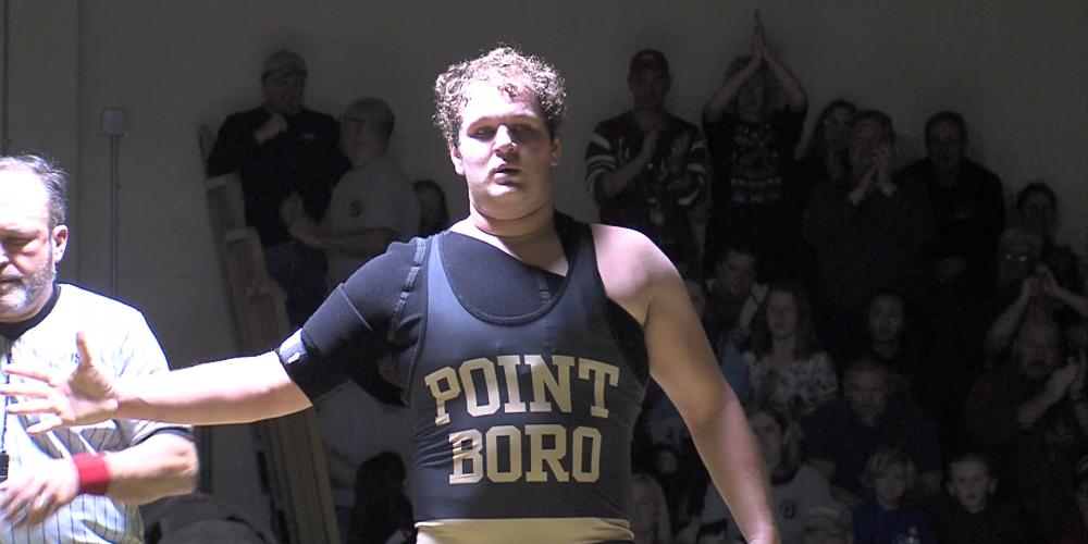 Point Boro honors past with wrestling win