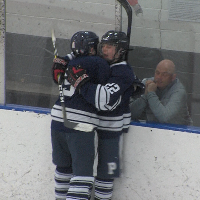Freshman helps lead Princeton to upset win in state playoff hockey