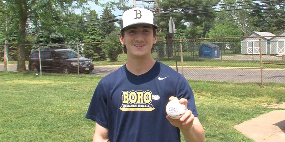 SSZ Game Ball to perfect game pitcher