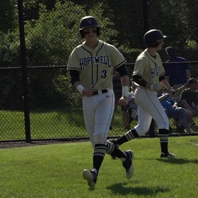 Hopewell Valley baseball takes down rival Nottingham to reach Semifinals!