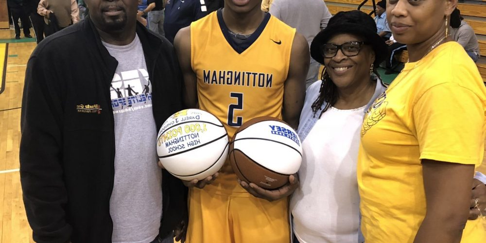 Nottingham's Darrell Johnson takes home South Jersey game ball