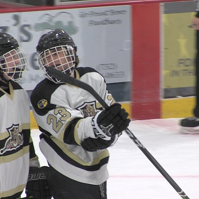 The Road to the Rock Begins – Point Boro advances in state hockey