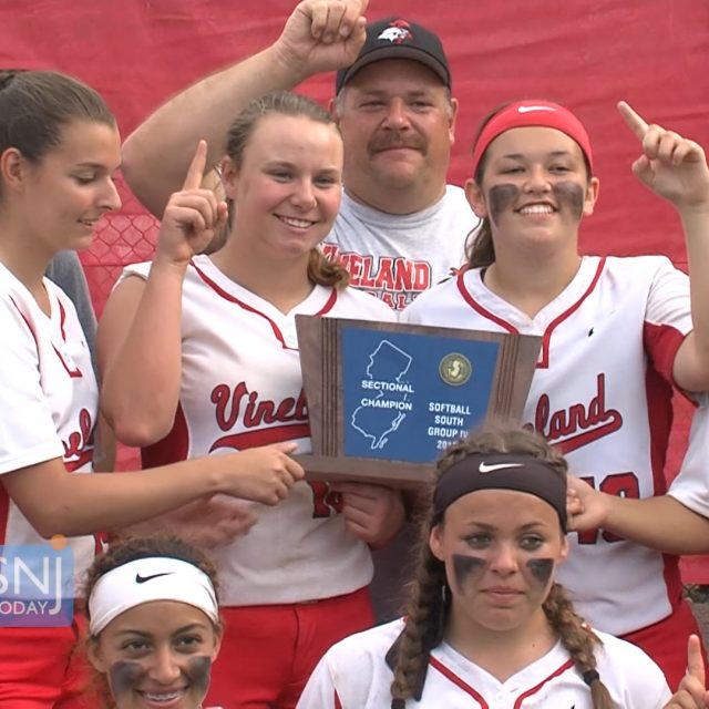 Vineland Walks Off with South Jersey Group 4 Softball Title