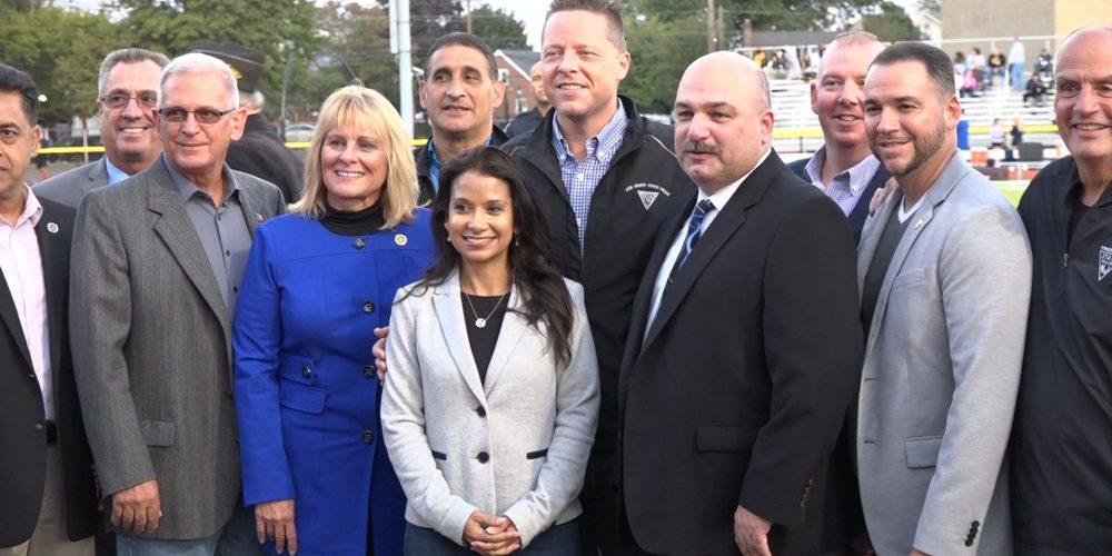 Carteret School Board & Local Government Collaborate on Walter Overholt Memorial Stadium