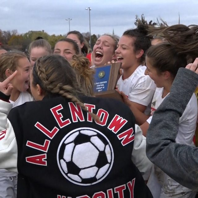 Allentown girls win Central Group 3 Championship