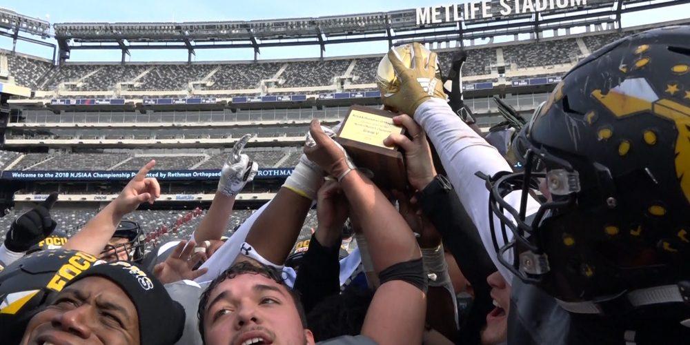 Watch JSZ Saturday 12.1 NJSIAA State Football from MetLife!