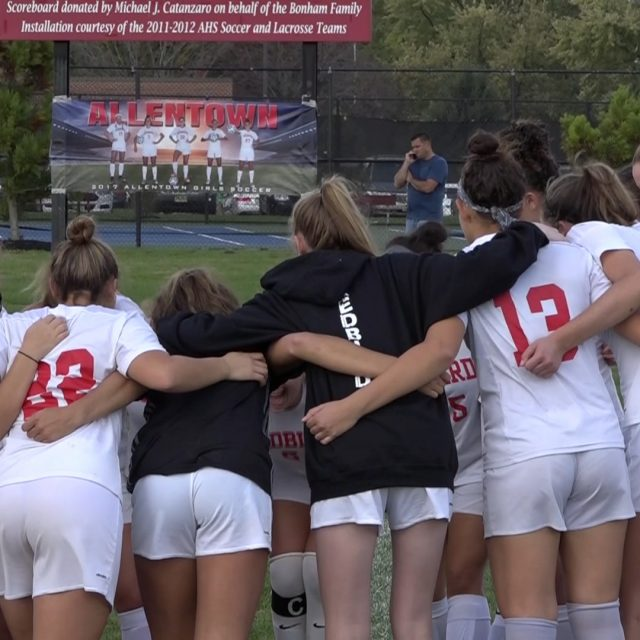 Allentown girls soccer moves on to Group 3 Central semi finals