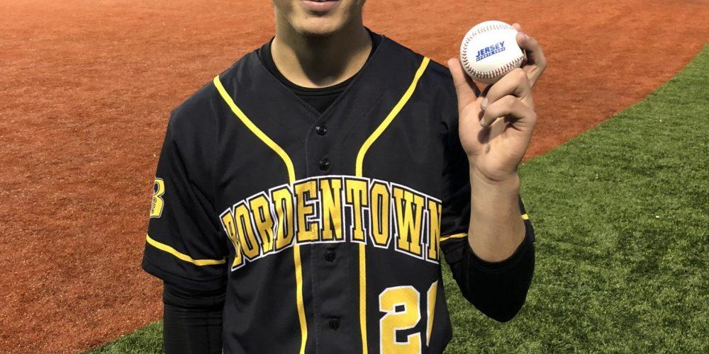 Ryan Gronostajski of Bordentown takes home first ever South Jersey Game Ball!