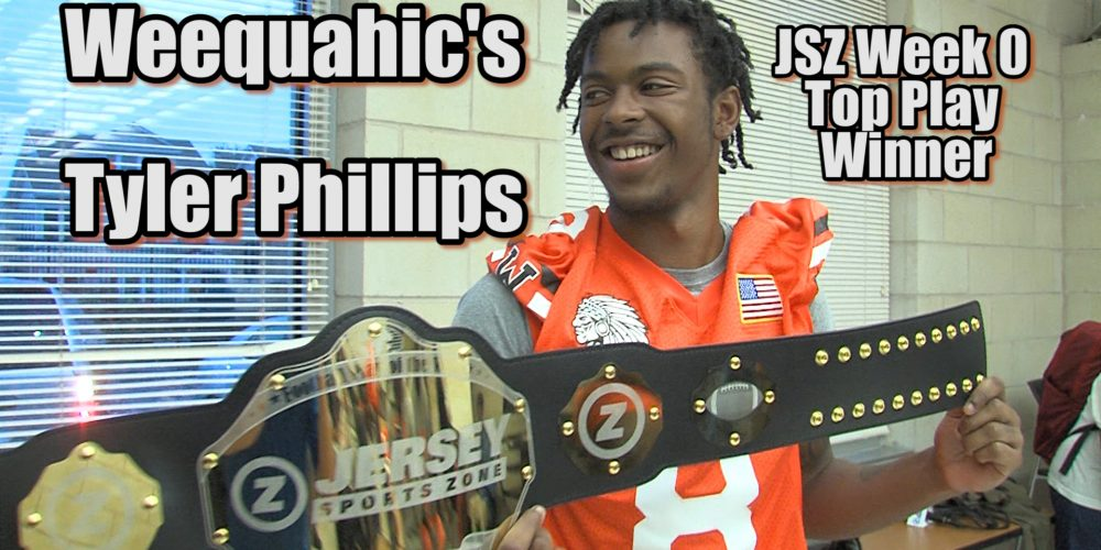 JSZ's Week Zero Top Football Play Winner | Weequahic's Tyler Phillips