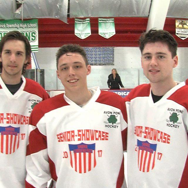 Top hockey trio combines forces in senior showcase