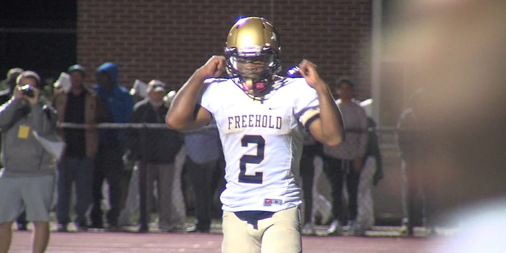 Watch Freehold Boro 27 Long Branch 20 Week 9 highlights