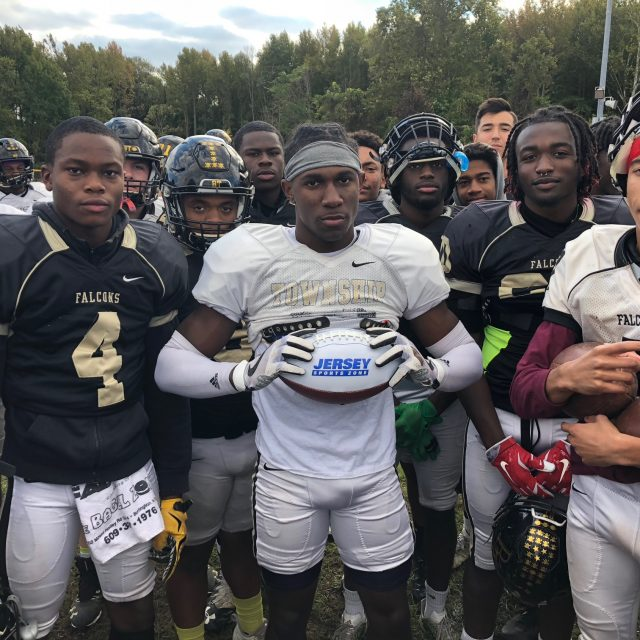 Justin Johnson of Burlington Township wins South Jersey Week 7 Game Ball