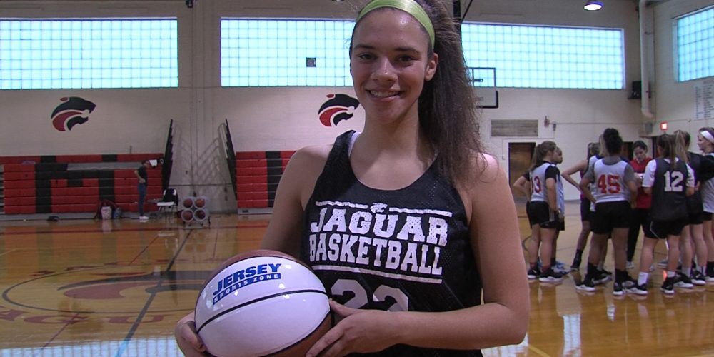 Jackson Memorial's Kristina Donza Wins JSZ Central Jersey Game Ball