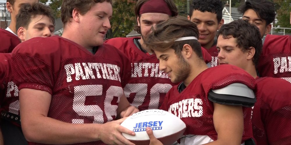 Dylan Camillo is Courtney's Week 7 Mid-State Game Ball Winner
