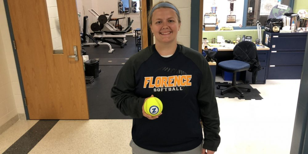 JSZ stops by Florence to deliver a pair of South Jersey Game Balls!