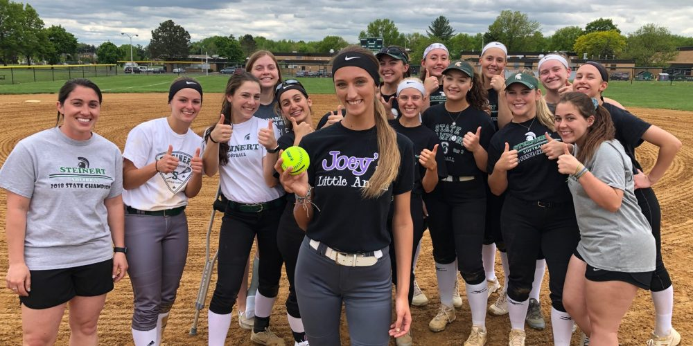 Kaylee Whitaker of Steinert takes home NJM South Jersey Game Ball!