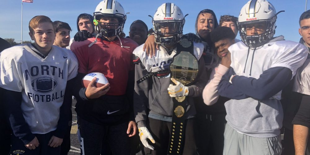 Kazanowsky and Jacob Win Week 7 Shore Game Ball and Top Play Belt for Toms River North