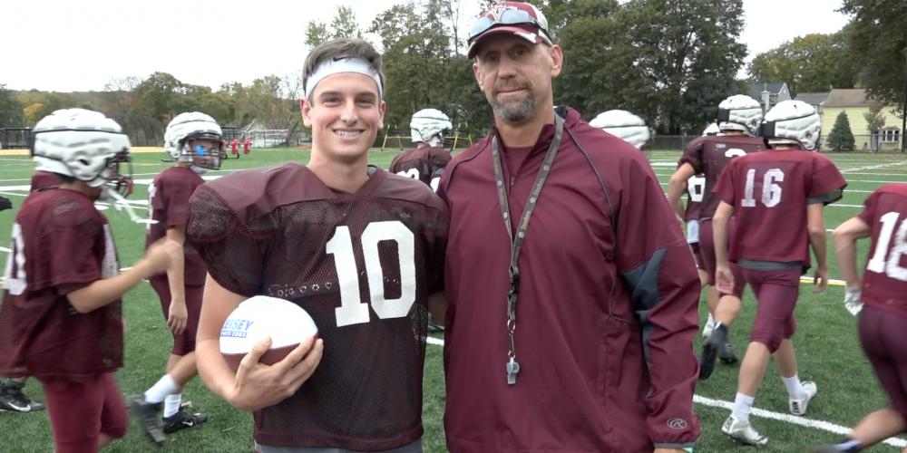 Tom Sharkey Wins Alex's Week-7 Game Ball! – 181 Yards & 5 TD's vs Butler