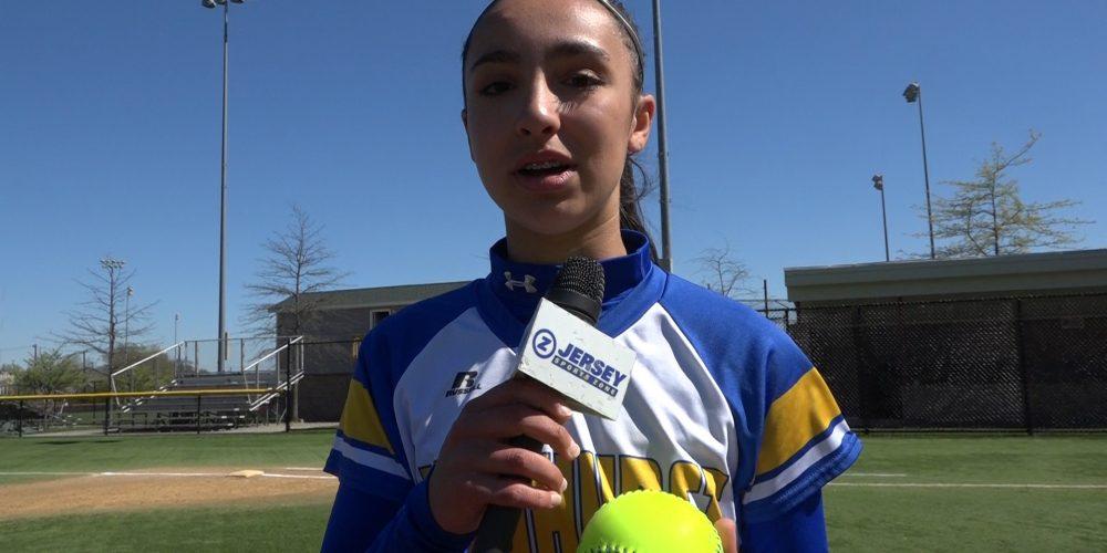 Ella Tozduman Wins Softball North Jersey Game Ball!