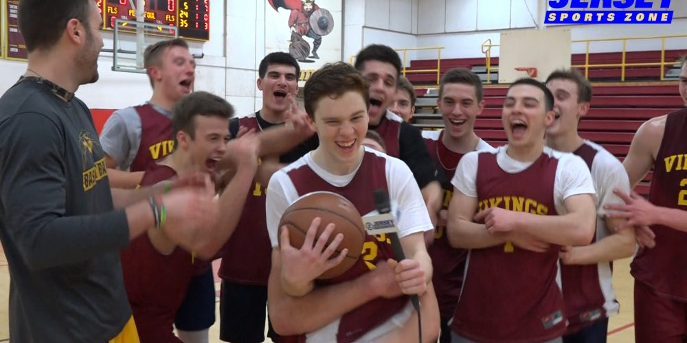 Voorhees' Eric Schroeter wins the Male Mid-State Game Ball