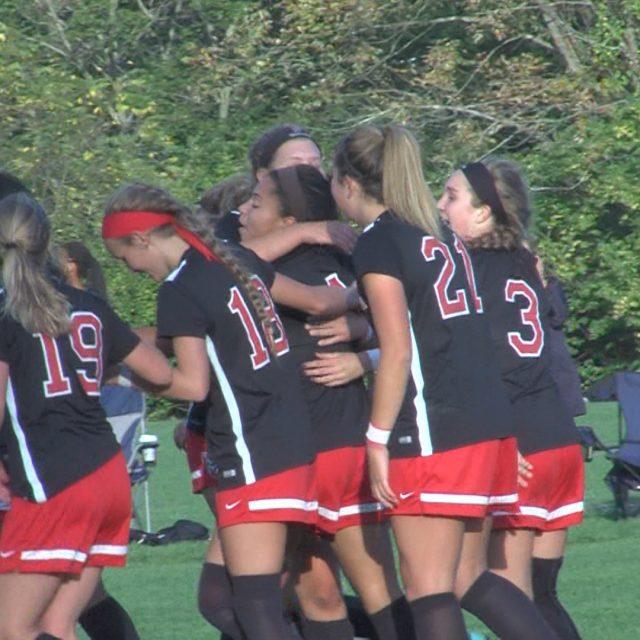 Pennington girls soccer shuts out Princeton Day School 3-0