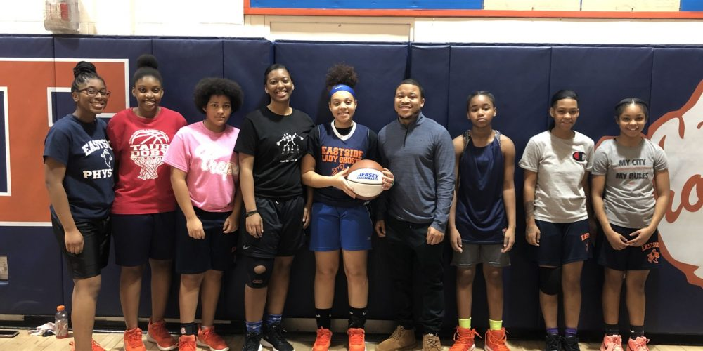Paterson Eastside's Ky'zirah Townes Wins Week 1 North Jersey Game Ball!!