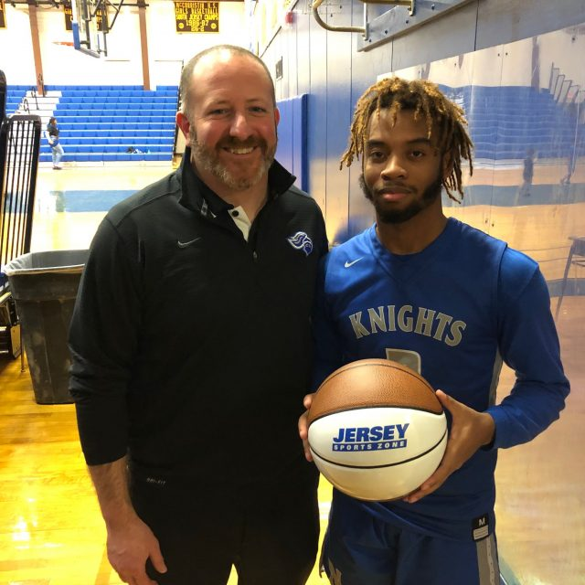 West Windsor North's Jaden Sands wins NJM South Jersey Game Ball!
