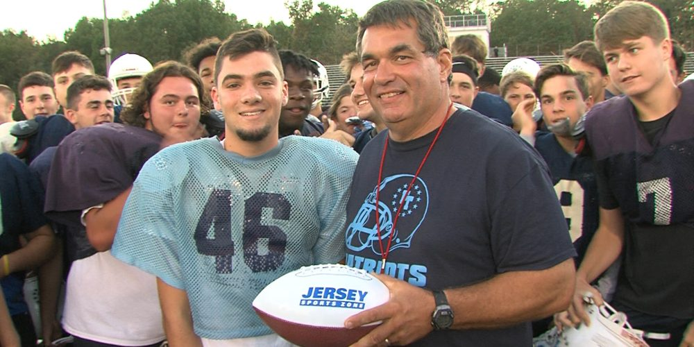 Nick Reardon earns Monmouth Building Center Game Ball for Week 4