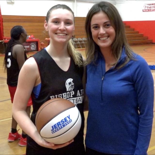 Bishop Ahr's Emma Boslet Wins Alex's North Jersey Game Ball! Watch Presentation