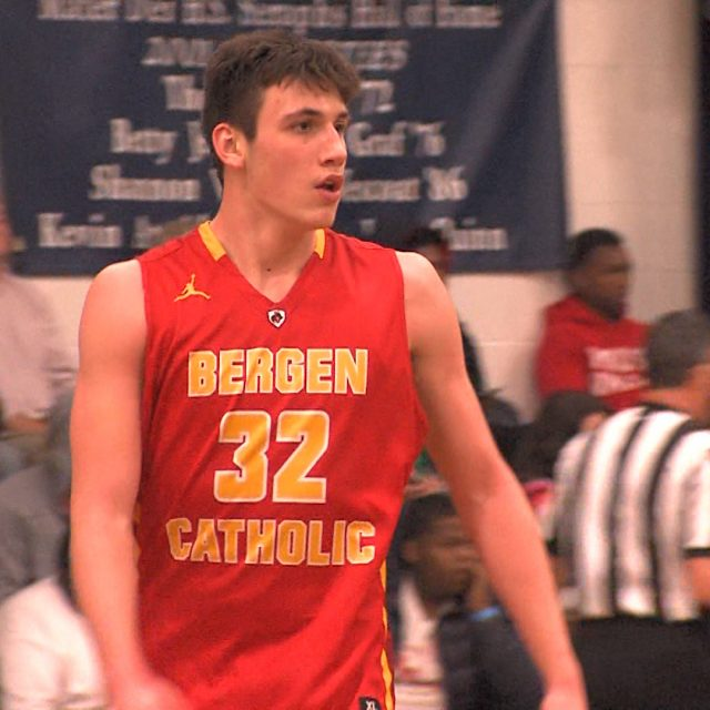 X marks the spot for Bergen Catholic's Freemantle
