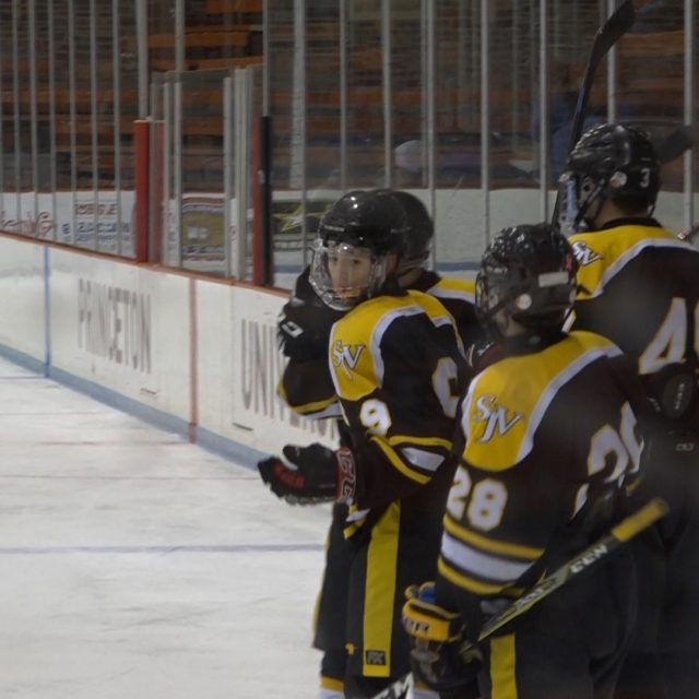 No. 9 St. John Vianney Ice Hockey Team Remains Unbeaten!