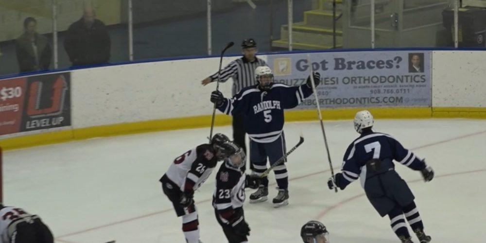 Randolph reaches 11-win mark on the ice