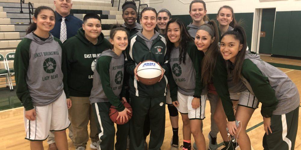 Alyssa Bondi Wins Week 2 Central Game Ball | East Brunswick High School