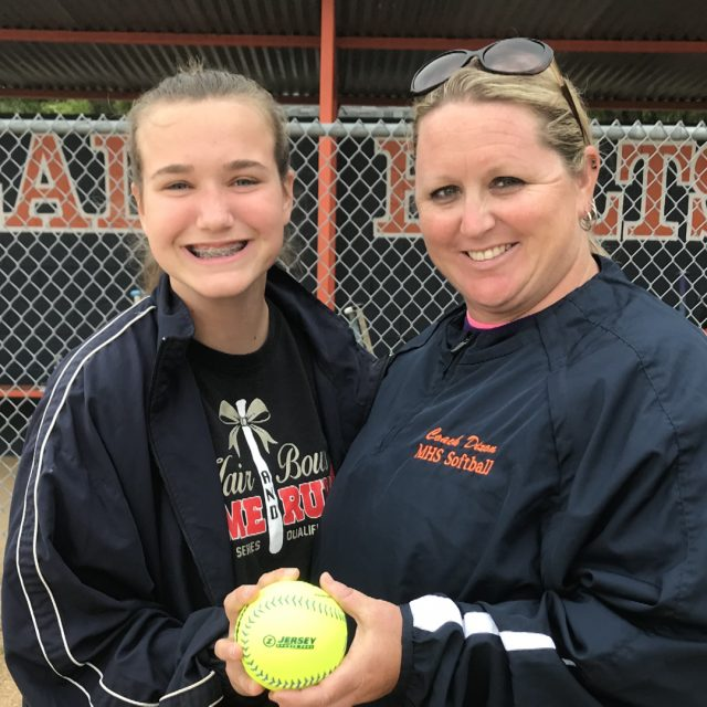Millville's Ella Gamber Wins NJM Insurance Softball Game Ball