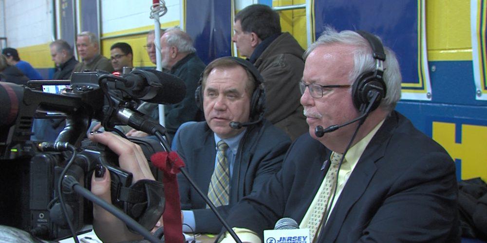 NJ's speaker and Woodbridge Mayor team up in broadcast booth