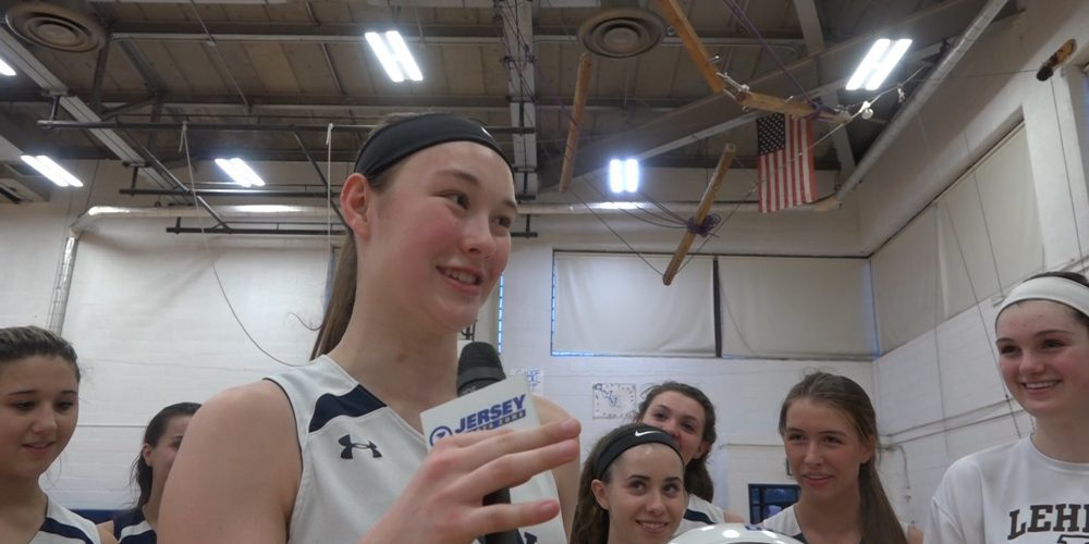 Stephanie LaGreca Wins Girls North Jersey Game Ball For Wayne Valley!