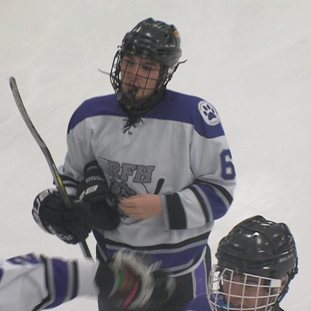 Catalano's late goal gives RFH opening night ice win