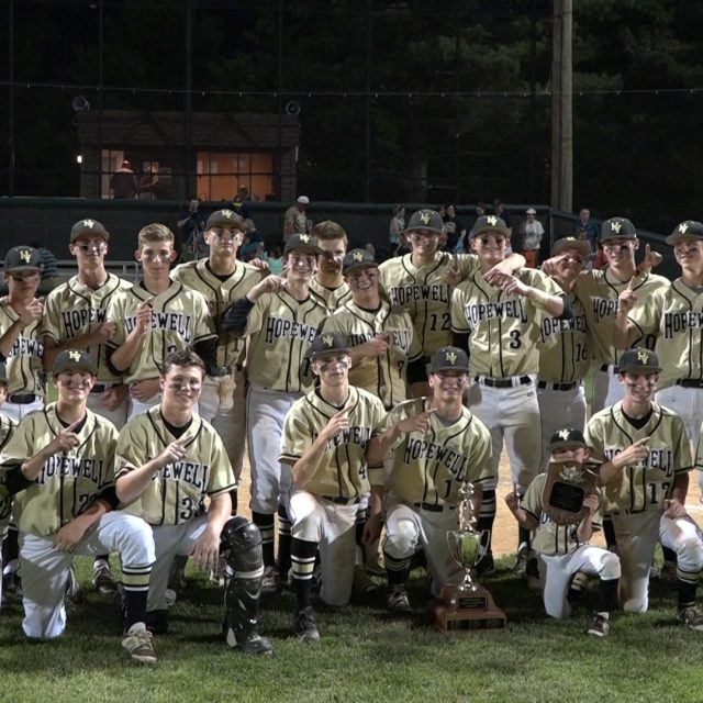 Hopewell tops rival Nottingham 4-2 for first ever County Title!