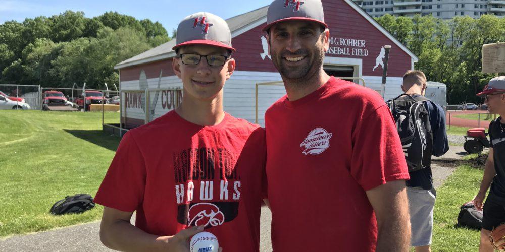 Justin Merryfield of Haddon Twp. Wins Final NJM Insurance Baseball Game Ball