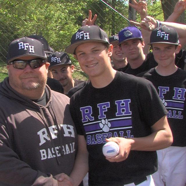 RFH lefty Kevin Shanes takes home JSZ Central Jersey Game Ball