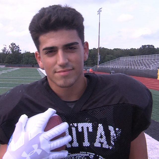 Raritan's Mike Fiore Wins JSZ Week 0 Game Ball!