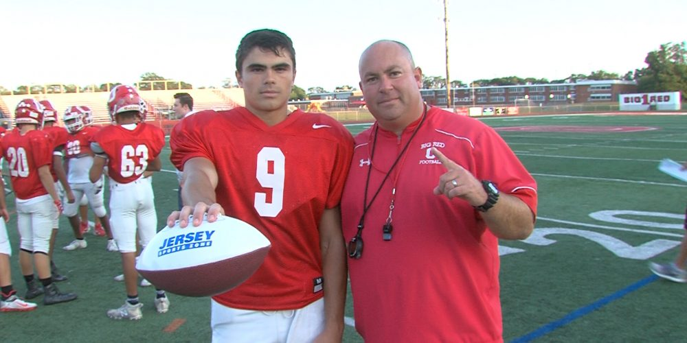 Ocean's Carasia wins JSZ Central Jersey Game Ball thanks to 2 picks