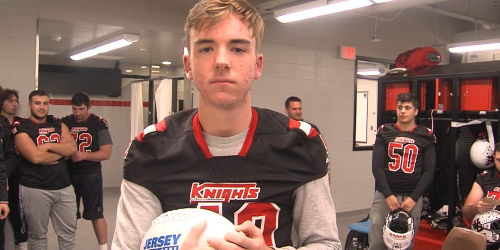 West Essex's Tyler Logan Brings Home Final JSZ Game Ball of 2019