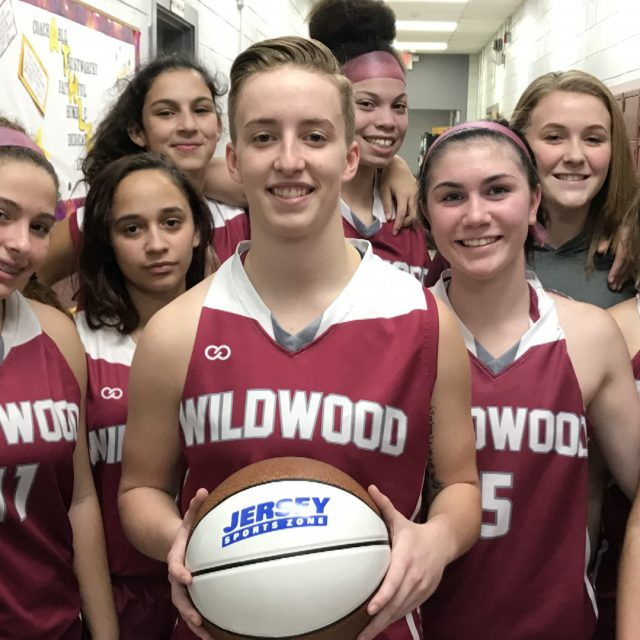 Wildwood's Winter Favre Wins NJM Insurance South Jersey Game Ball