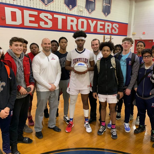 Dunellen destroys polls for JSZ ACI Medical & Dental Central Jersey Game Ball