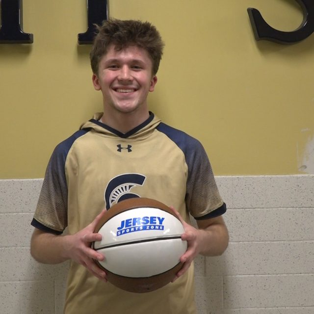 Holy Spirit's Jack Cella Wins NJM Insurance JSZ South Jersey Game Ball!