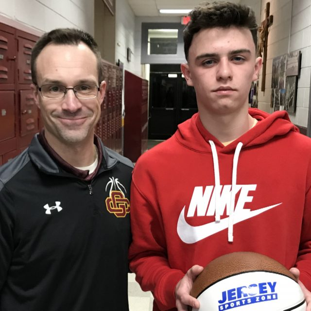 Gloucester Catholic's Ryan Roney Wins NJM Insurance South Jersey Game Ball