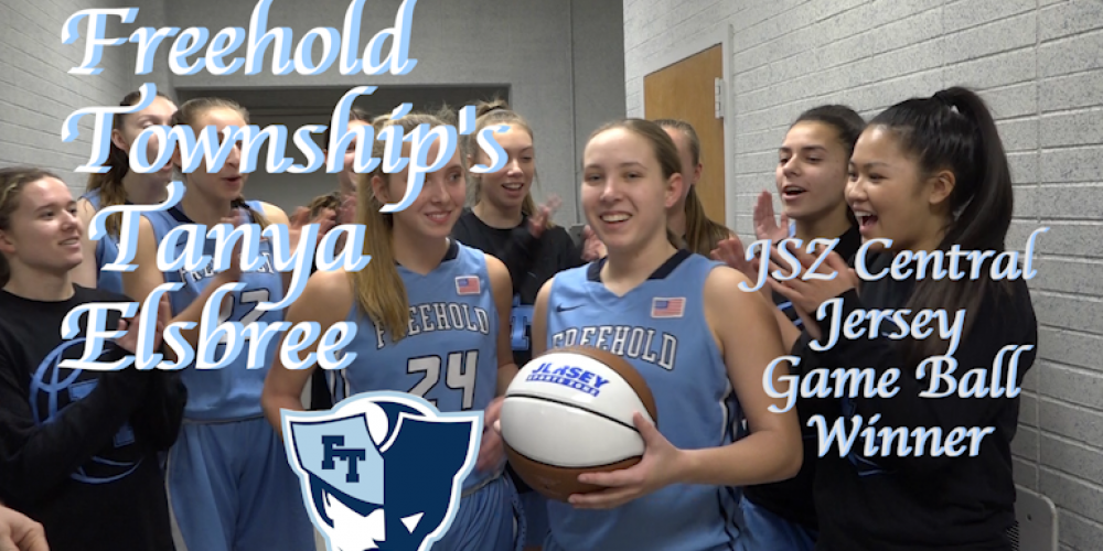 Tanya Elsbree of Freehold Township wins ACI Medical and Dental School Central Jersey Game Ball